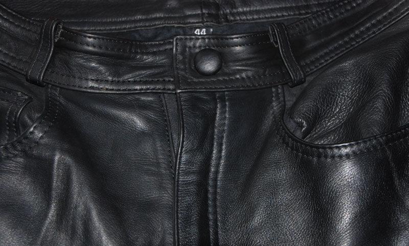 Retouche veste de cuir